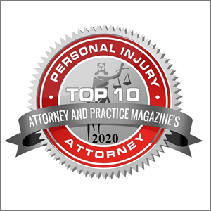 Attorney and Practice Magazine Top Ten Attorney Award