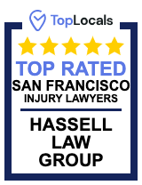 Top Locals Top Rated San Francisco Injury Lawyers Award